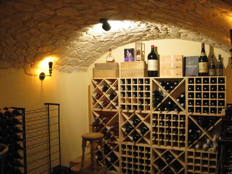 Création d\'une cave à vin voûtée 2017 - aob2l