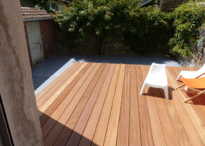 Terrasse Bangkirai n°5